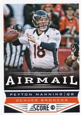 Peyton Manning 2013 Panini Score Football, Airmail, Collector Card