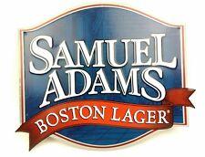 Samuel Adams Boston Lager Sign Metal Tin Beer Bar Poster LA309 Collectible