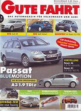 Gute Fahrt 3/07 Audi S3 Wimmer mit 310 PS/A4 Avant 2.0 TFSI/Touareg 4.2 FSI/2007