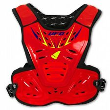 UFO Reactor Protector Youth Body Amrour MX Motocross Kids Roost Tabard Red