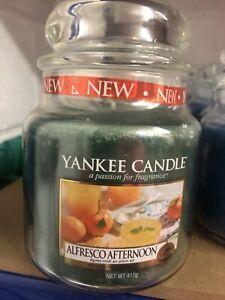 Yankee Candle Medium Jar Alfresco Afternoon