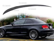 BMW E82 E88 1er Spoiler Lackiert Schwarz 475 Heckspoiler Abrisskannte Hecklippe