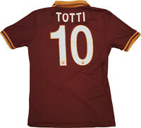 MAGLIA ROMA TOTTI issued Serie A JERSEY SHIRT 2013 2014 ROMA CARES rara M