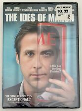 THE IDES OF MARCH [DVD] NEW George Clooney, Ryan Gosling, Philip Seymour Hoffman