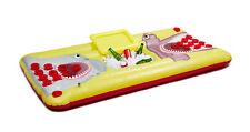 Gonflable Beer Pong Set-Pool Float Table avec refroidisseur - 6 ft (environ 1.83 m) Flottant Game Kit