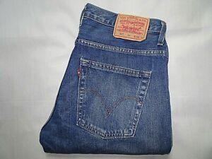 """LEVIS 507 Jeans Slim Bootcut Blue Denim SIZE W33 L36 Waist 33"""" Leg 36"""" LEVI 507"""