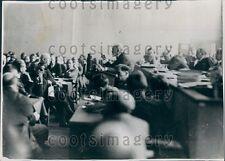 1934 Disarmament Meeting Geneva M Barthou of France  Press Photo