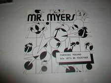 MR. MYERS - REGGAE SKA LATIN OBSCURE CHICAGO AREA 45 /w/COVER