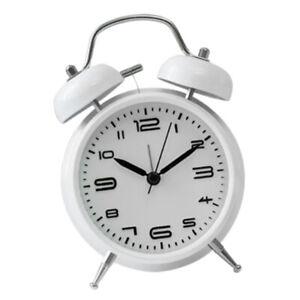 Classic Style Wind Up Mechnical Alarm Clock Analog Mechanical Bell Alarm Clock