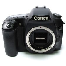 Canon EOS 30D 8.2 MP Digital SLR-Negra defectuoso (Cuerpo únicamente)
