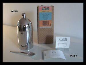 ALESSI : Sugar Bowl With Spoon 90024 / Aldo Rossi ( New )