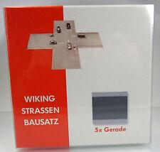 Wiking 119902 Strassen-Bausatz Gerade (5 Stück)