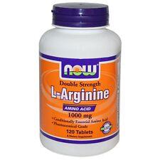 Now Foods L-arginine 1000mg 120 Tablets