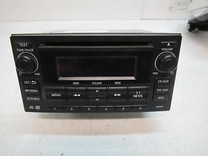SUBARU IMPREZA RADIO/CD/DVD/SAT/TV CD PLAYER, G4, 12/11- 11 12 13 14 15 16