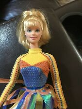 Barbie doll Michelle Kwan Olympics ice skates doll