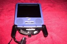 Purple Intec LCD Portable Gamecube Screen Monitor Nintendo GCN - NO Power Cords