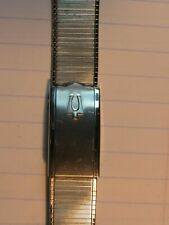 NOS Vintage DUCHESS Stainless Men's Watch Bracelet Band Accutron 19mm 18mm 11/16