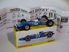 Formule 1 / MATRA F1 + panneau  -  ref 1417 au 1/43 de dinky toys atlas