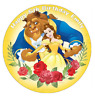 """Beauty And The Beast Belle Personalised Birthday Cake Topper Edible 7.5"""" Wafer"""