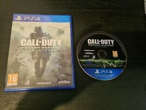 Call of Duty Modern Warfare Remastered PS4 (PlayStation 4) GC. Free P+P.