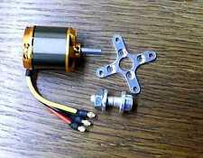 Brushless Motor Set iP 560A 2S-4S 500Watt Prop 9-12Zoll 4-17Volt bis 3kg