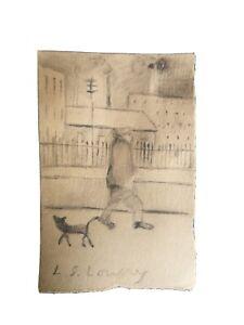 Lowry Pencil Sketch - poss original?