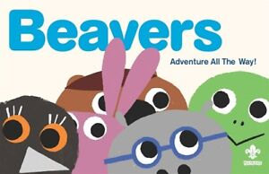 Beavers Adventure All The Way Book. OFFICIAL SUPPLIER.