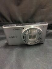 Sony Cyber-shot DSC-W830 Digital Camera - Silver, read description