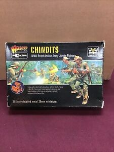 Warlord Games Bolt Action Chindits WW2 British Indian Army Jungle Fighters New