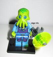 Légo 71008 Minifig Figurine Série 13 Alien trooper homme de troupe + socle Fiche