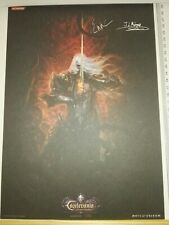 Preorder (1500 units)Castlevania Lords of Shadow Mirror Fate lithography/Sheet 2