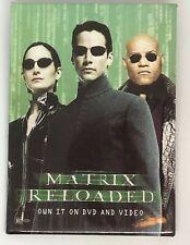 "Matrix Reloaded ""Neo, Morpheus, Trinity"" Promotional Pin"