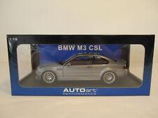 (Modelage) 1:18 Autoart bmw m3 CSL e46 NEUF neuf dans sa boîte