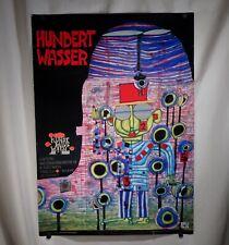 Vintage 1991 Friedensreich Hundertwasser Exhibition Poster  -  55854