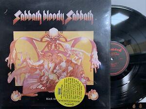 Black Sabbath – Sabbath Bloody Sabbath LP 2003 Earmark – 41012 EX/EX 180 Gram