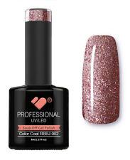RBBJ-002 VB™ Line Rainbow Pink Glitter - UV/LED soak off gel nail polish