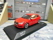 AUDI A3 S3 Sport 3 Türer Quattro rot red 2013 S3 8V Minichamps 1:43