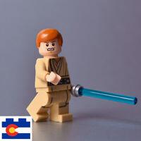 Lego Young Obi-Wan Kenobi Minifigure Obi Wan Episode I 1 With Lightsaber