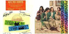 Music Memorabilia The Beatles 2 pcs. Ephemera For Framing /crafts