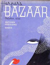 HARPERS BAZAAR October 1936 Erte Man Ray Vionnet Schiaparelli