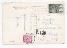 1959 ITALY REPUBBLICA SEGNATASSE 20 LIRE LIERNA 20/7 A/4630