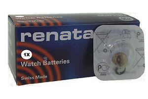 Renata 386 Argento 1.55v Batteria Orologio Ricambi SR43W