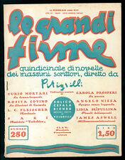 PITIGRILLI LE GRANDI FIRME 280 DOLICOCEFALA BIONDA UNDICESIMA PUNTATA 1936