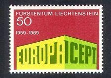 Liechtenstein 1969 Europa/CEPT/Colonnade Design/Animation 1v (n38488)