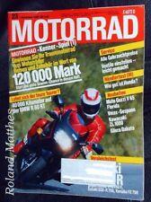 MOTORRAD 23-86+BMW R 80 ST+GILERA DAKOTA+GUZZI V 65+KAWASAKI GPX+HONDA VFR+VMAX