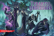 Dungeons and Dragons Tyrants of the Underdark Strategy Board Game - (D&D)