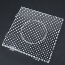 Clear Square Large Pegboards Board For Hama Fuse Perler Beads Design Template