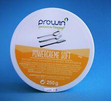 proWIN POWERCREME SOFT 250 g / neues Etikett... nur 14,79 inkl.versand