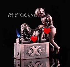 1 X Soundable Vintage Sex Body Art Cigarette Lighter Funny Jet Torch U.K. Seller