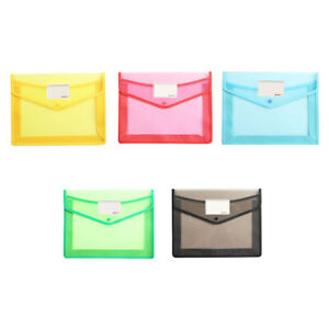 A4 File Folder Document Filing Bag Stationery Bag School Office Supplies